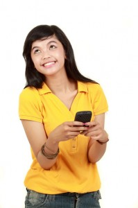 market to teens with sms text messages